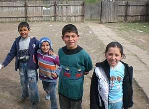 Romanian children. Creative Commons licensed.