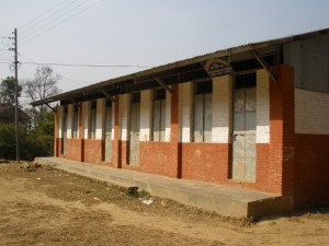 Gauchaneshwori Lower Secondary School. Photo by Somesh Verma.