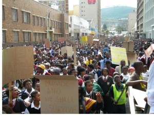 In 2010 over 12,000 participated in Human Rights Day marches around the country.