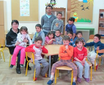 A primary school class at Drzimurec-Strelec School