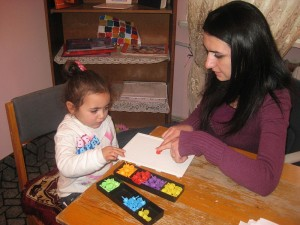 In Armenia it is common for children with disabilities of pre-school age not to attend kindergarten or any educational institution.
