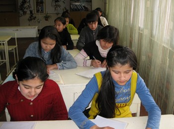 Tough Talk on Kyrgyz Schools
