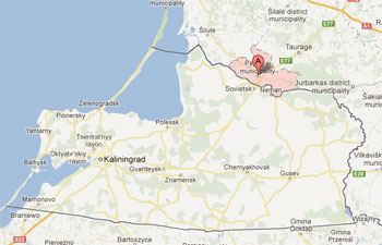 Pagegiai sits across the border from Kaliningrad.