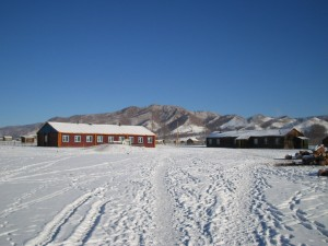 A rural school in Bulgan region, Mongolia. Photo by Harunire.