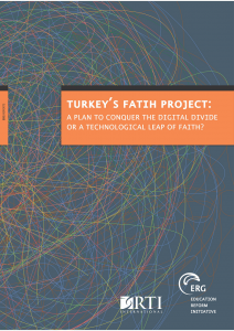Turkey's FAITH Project