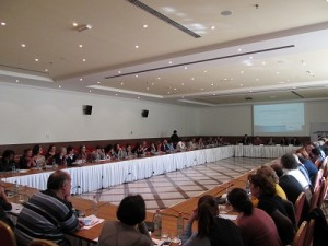 Public presentation of the Higher Education report  November 2013, Yerevan, Armenia.