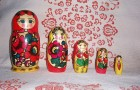 Matroshka dolls, a cultural symbol of Russia. Photo from Wikimedia.