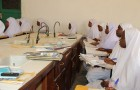 Female students studying to become midwifes in Jigawa, Nigeria. Image courtesy of Wikimedia Commons. Photo by russavia.