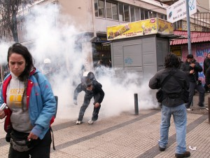Students in Chile protest for education reform